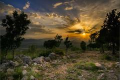 Sunset on Cross Hill, Medjugorje, Herzegovina (davpen) Tags: sunset mountain sunrise location herzegovina seashore conditions medjugorje