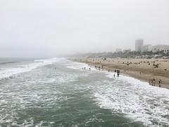 (lumineuseamour) Tags: ocean california beach cali la losangeles santamonica lax santamonicapier santamonicabeach vsco iphoneography vscocam vscophile vscogrid iphone6s
