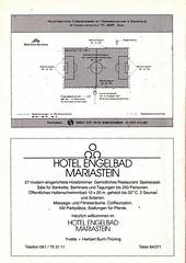 Switzerland vs England - 1981 - Page 46 (The Sky Strikers) Tags: world england cup st schweiz switzerland official basel 150 jakob fr programme offizielles programm qualifier fussballstadion