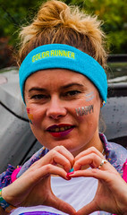 Happy from Walthamstow heading to The Color Run London 2016-2.jpg (Dave Anteh) Tags: colourmehappy the color run walthamstow running runner colour happy london croydon