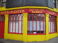 Peter the Pleater (duncan) Tags: shop shoreditch blinds shopfront peterthepleater