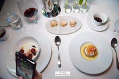 B photographing our desserts (thewanderingeater) Tags: atlanta dinner georgia buckhead finedining restauranteugene