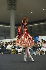 Lolita Fashion Tokyo (Design Festa) Tags: fashion japan japanese tokyo cosplay lolita fashionshow catwalk tokyobigsight artevent artfestival lolitafashionshow lolitafashion japaneselolita japaneseartfestival