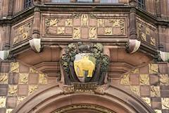 Detall de l'ajuntament de Coventry (Jordi_TH) Tags: coventry uk regne unit reino unido england inglaterra anglaterra escut escudo