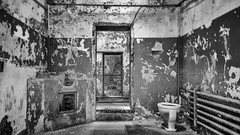 Get me out of here no copy (toddrogers84) Tags: travel urban philadelphia architecture clouds buildings landscape bars gates decay bricks oldbuildings haunted spirits prison daytime alcapone hauntings fallingapart sanitarium prisoncells easternstatepenitantuary