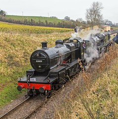 West Somerset Railway Spring Gala to commemorate the 50th annivesary of the closure of the Somerset & Dorset Joint Railway. (Adrian Walker.) Tags: heritage trains somerset steam tamron locomotives steamtrain 4f minehead manston lms bishopslydeard 7f westsomersetrailway bulleid sdjr 8f stanier 53808 44422 53809 34053 heritagerailways peckett 44871 45379 48624 pacifics canon60d somersetdorsetrailway sirkeithpark brstandard4mt 34070 sdrht blsckfive