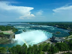 Wow (flipkeat) Tags: ontario nature water beautiful landscape waterfall high rainbow view awesome canadian niagara falls horseshoe breathtaking