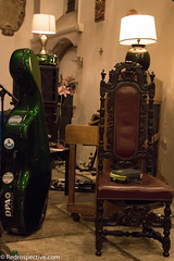 Throne (redrospective) Tags: music green london photography concert chair live gig case cello instruments throne doublebass 2016 musicphotography stpancrasoldchurch may2016 20160518
