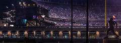 san francisco state university's 115th commencement ceremony (pbo31) Tags: sanfrancisco california city urban panorama black color night evening nikon graduation ceremony may large panoramic bayarea giants commencement stitched sfsu ballpark missionbay 2016 boury attpark pbo31 d810