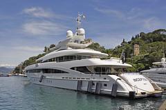 Inception yacht (Rock 'n Soul) Tags: inception yacht superyacht megayacht boat portofino luxury harbour port marina