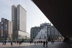 De Trap, Rotterdam (m-tjon) Tags: station stairs rotterdam trap centraal mvrdv groothandelsgebouw
