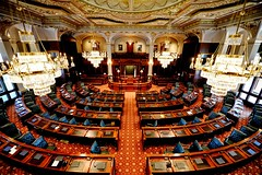 House Chamber (|=_=|) Tags: house building illinois nikon power angle state senator interior politics wide indoor il capitol governor chamber politician springfield 28 constitution f28 senate goverment d610 1424