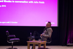Bernie Rhodes - The British Library, London - 27/05/16 (Phil-G65) Tags: london johnrobb thebritishlibrary bernierhodes