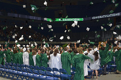 Class of 2016 :) (kimt15) Tags: white green smile freedom graduation highschool future dreams chs graduates 2016 chariho classof2016 ryancenter 6102016 chs2016