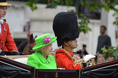 Birthday Couple (dhcomet) Tags: birthday london royal parade queen dukeofedinburgh queenelizabeth themall thequeen princephilip pageantry troopingthecolour