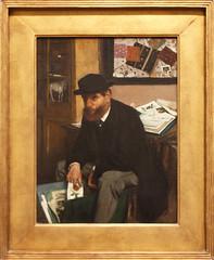 Edgar Degas - The Collector of Prints 1866 (ahisgett) Tags: new york art museum met metropolitian
