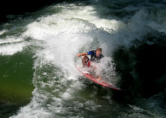 Die Welle (cure di marmo) Tags: water mnchen surfer wave welle eisbach