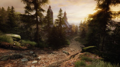 VOEC - 055 (Screenshotgraphy) Tags: bridge sunset sky mountain lake game nature water colors architecture clouds contrast forest montagne landscape soleil pc screenshot gare lumire couleurs country lac ethan steam gaming ciel beaut carter concept nuages paysage vanishing campagne foret beautifull jeu naturelle urbain 1440p