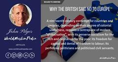 WHY THE BRITISH SAID NO TO EUROPE (worldmuslimpediawmp) Tags: brexit why british said no europe