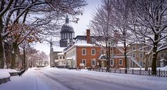 2016Fev-Vieux TR-5 (jdbrochu) Tags: photographie hiver troisrivieres ville clocher laneige pleinair batisse vieuxtroisrivieres