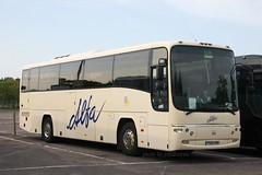 Alfa 53 PN09 HMH (johnmorris13) Tags: volvo coach alfa paragon plaxton b12b alfatravel pn09hmh