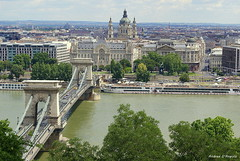 Budapest (Darea62) Tags: budapest river bridge chain danube danubio art monument city hungary panorama town architecture history ancient