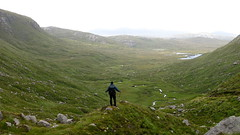Scotland (Sbastjen) Tags: skye green nature water grass fog scotland rocks wide scenic outer hebrides unspoiled