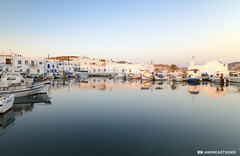 Sun is up! (and641) Tags: seascape port sunrise reflections landscape boats wideangle greece paros cyclades waterscape naoussa tokinaaf1116mmf28 nikond5100