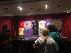 monkees merch table. june 2016 (timp37) Tags: june table concert indiana shirts horseshoe merch monkees teeshirts 2016