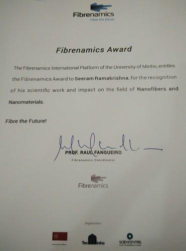 Fibrenamics Award