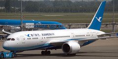 Boeing 787-8 B-2763 (707-348C) Tags: amsterdam schiphol ams eham boeing787 airliner boeing jetliner dreamliner passenger xiamenairlines xiamen b788 b2763 cxa