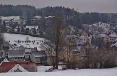 Obertrubach (horschte68) Tags: obertrubach 2013 march mrz deutschland germany bayern bavaria franconianswitzerland frnkischeschweiz winter winterwonderland fabulous panorama view eye eyeinthesky scenery composition perspektive perspective misty