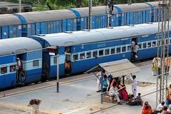 Indian Railways, Mathura (Fabionik) Tags: india train 2012 mathura indianrailway