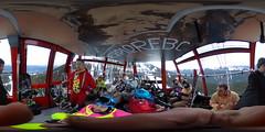gondola peak to peak whistler (ThisIsMeInVR.com) Tags: samsung 360 virtual reality ricoh vr oculus spherical 360vr