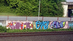 Graffiti in Dsseldorf 2015 (kami68k []) Tags: graffiti slow illegal dsseldorf slo tam bombing bunt revo 2015 k71