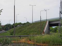 Wiadukt nad ulicą Podchorążych w Dęblinie / Viaduct over Podchorazych street in Deblin (darkadi1) Tags: poland olympus viaduct wiadukt dęblin mzuiko m45mm epl6