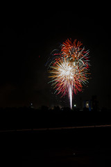 Fireworks (Stephen J Pollard (Loud Music Lover of Nature)) Tags: fireworks fourthofjuly fuegosartificiales cuetes