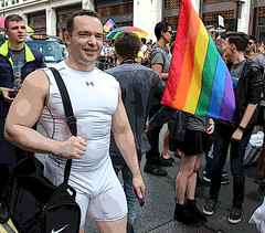 London Pride 2016 (ec1jack) Tags: uk gay party summer england london westminster june freedom march rainbow europe britain flag pride parade lgbt carnivale 25th bulge 2016 kierankelly ec1jack canoneos600d