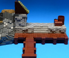 NoFig//Dock view (CeiCrownieGuy) Tags: ocean docks lego no lor figs lenfald crakenhaven