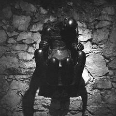 france_trip008 (ilija.karavlah) Tags: sculpture france museum rolleiflex delta epson 3200 ilford volti ddx villefranchesurmer 28e v750 antoniucci voltigero