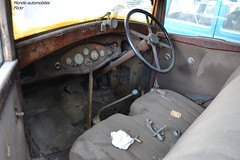 Delage D8 N 1932 (Monde-Auto Passion Photos) Tags: auto france automobile voiture sige bois intrieur vitesse vente compteur volant moretsurloing vhicule enchre osenat