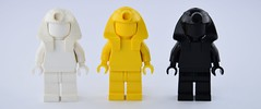 Monochrome mummy (Alex THELEGOFAN) Tags: lego orient expedition pharaohs quest hat mummy yellow white black