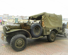 Dodge Weapons Carrier  T214 WC51 * (John(cardwellpix)) Tags: june day 18th quad an m45 mounted dorset dodge trailer 50 weymouth carrier aa weapons forces towing unit armed m20 2016 wc51 t214