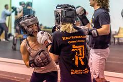 Trading Punches (danielmedley) Tags: city lake sport self utah fight nikon women salt spar defense maga reborn krav d5200