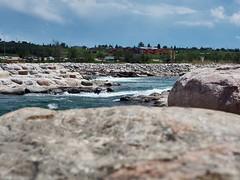 The Bow River... #Olympus #OlympusEM5 #OlympusOMD #M43 #MFT #YYC (Derman01) Tags: olympus yyc m43 mft olympusomd olympusem5