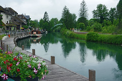 Chanaz (Savoie) : le canal de Savires (bernarddelefosse) Tags: france rhnealpes savoie chanaz lerhne canaldesavires