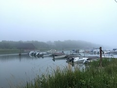 (f_delirium) Tags: marina finland boats islands smoke aland