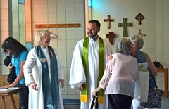 Pastors, Narthex hug