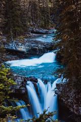 MH5_9216 (memories by Mark) Tags: rockies waterfall alberta banff rockymountains banffnationalpark johnstoncanyon