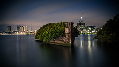 Floating Forest Landscape (irecyclart) Tags: travel urban water forest landscape boat sydney